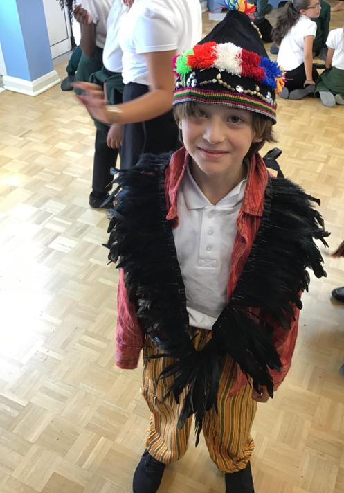 And we had great fun dressing as Mayan's