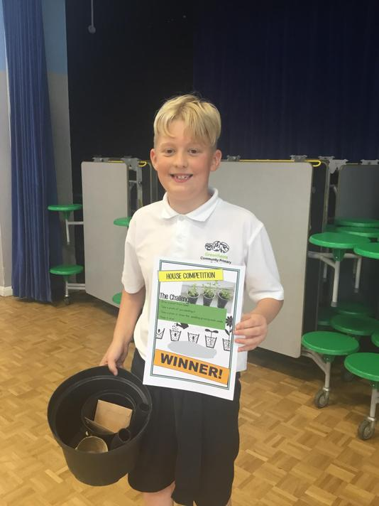 Oliver - UKS2 Winner!