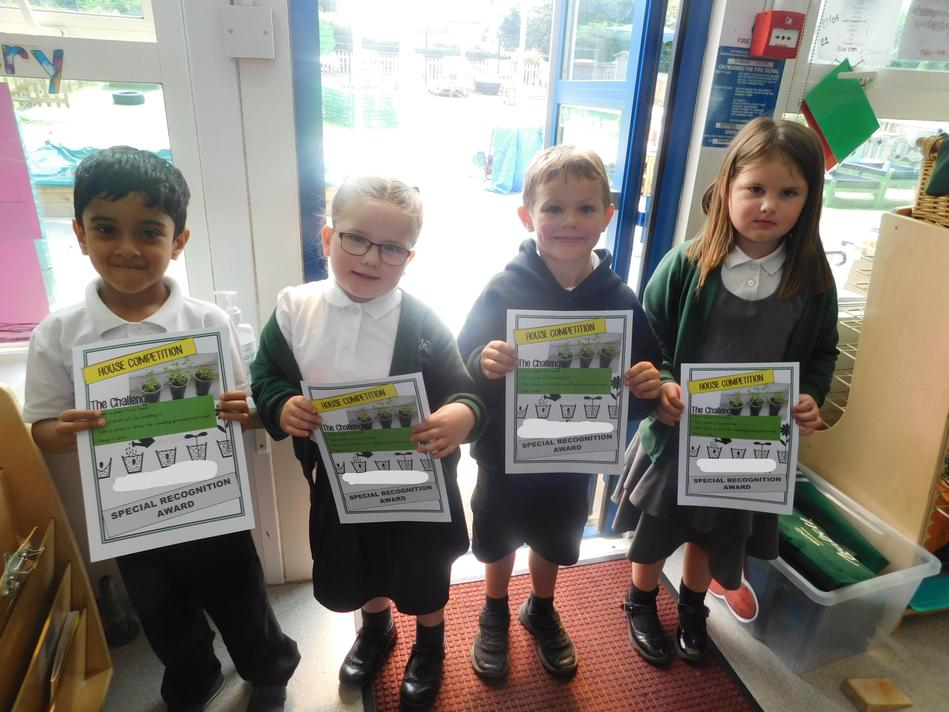 Year R -Special recognition winners