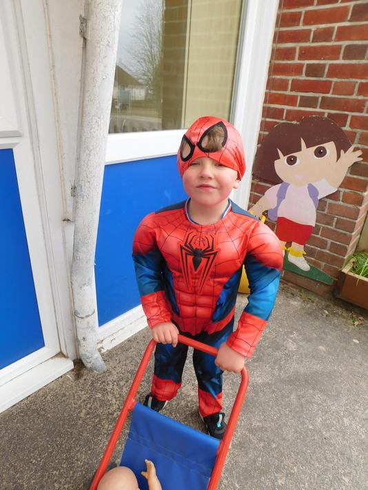 What a great Spiderman Daniel.