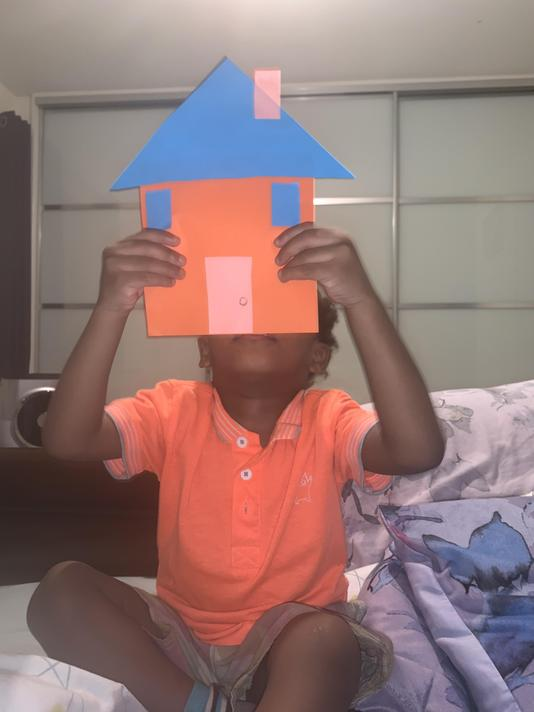 Fantastic house Marco, you have used different 2D shapes to build it, great work.