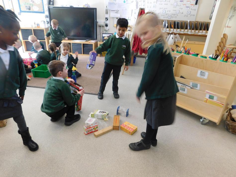 The children found cuboids.
