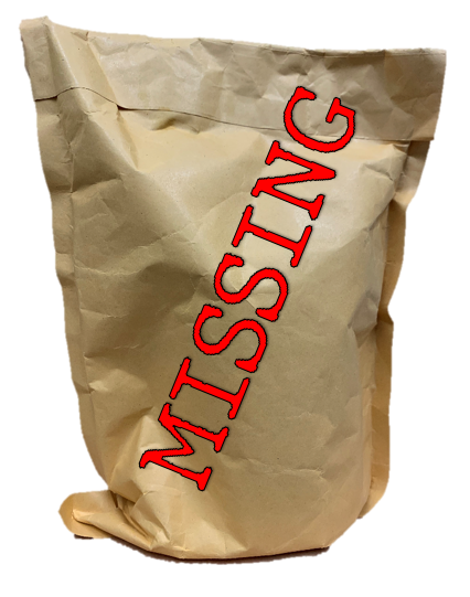 The mysterious parcel from Mr Andrews is missing!