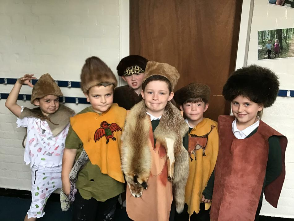 Dressing in Stone Age attire