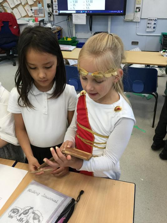We explored Roman artefacts