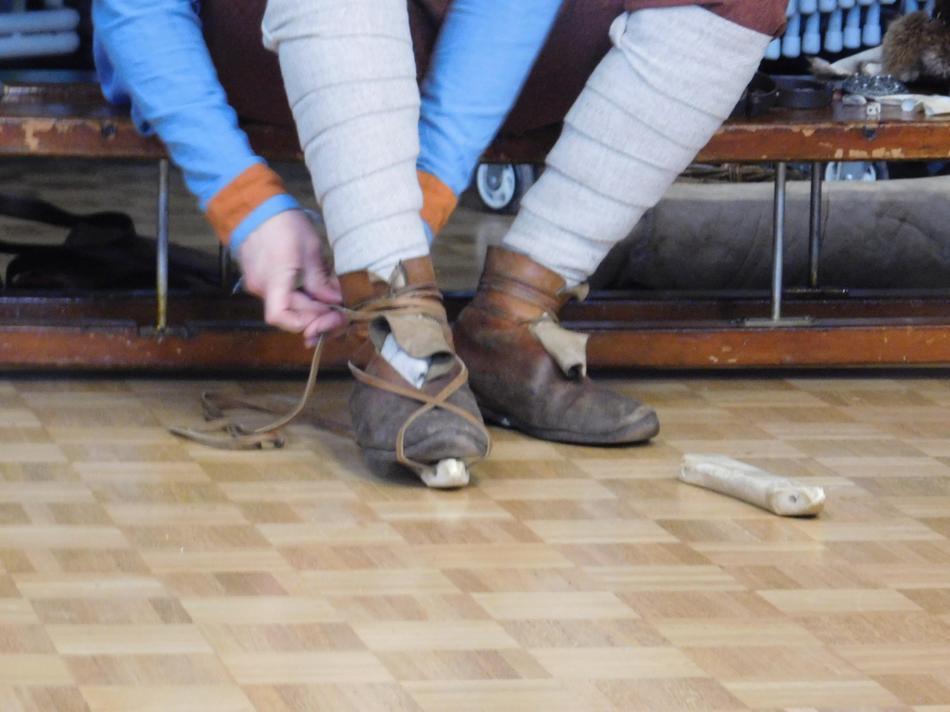 Anglo-Saxon ice skates.