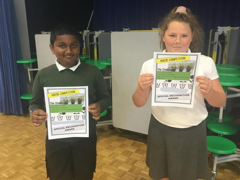 UKS2 - Special recognition winners