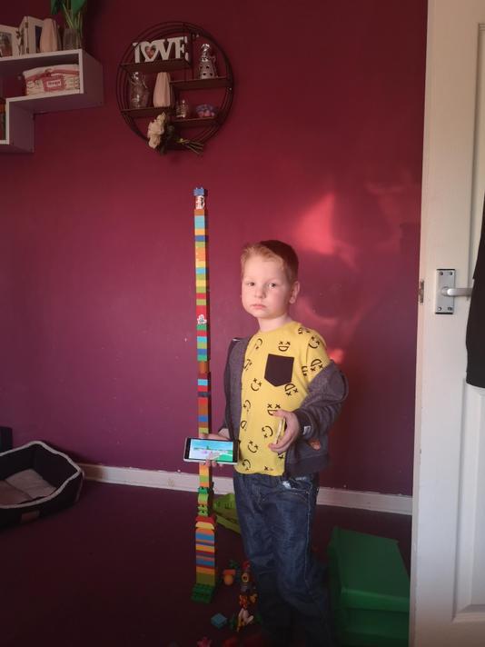 Wow Alex! taller than you!