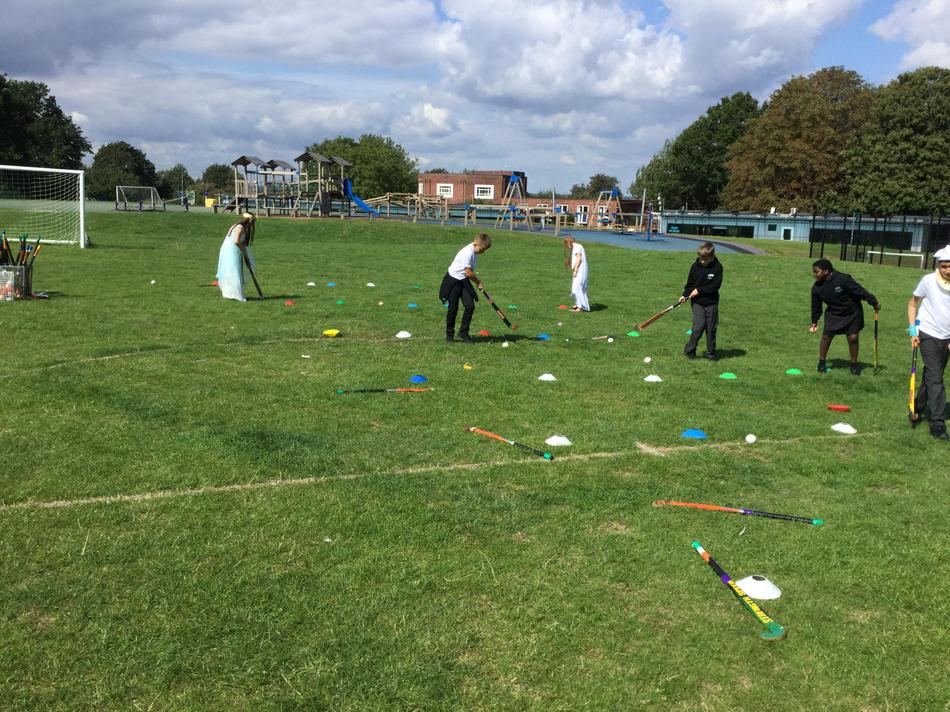We had an Ancient Egyptian sports day!