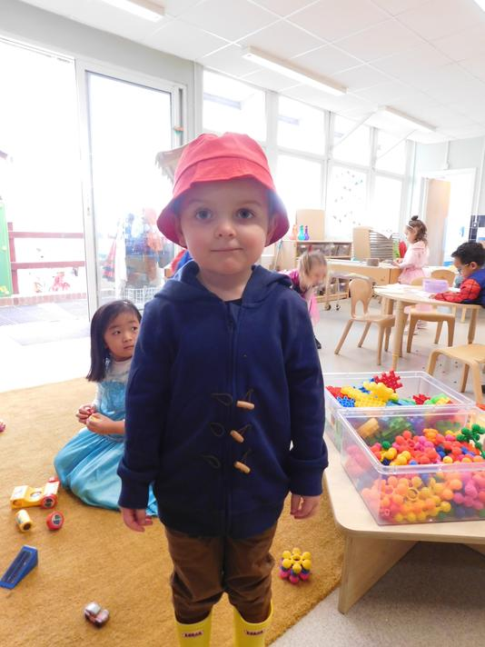Such a cute Paddington Oliver.