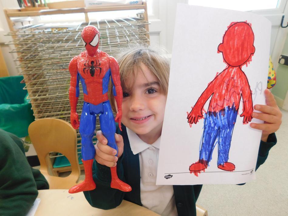 Fantastic Spiderman Phoebe.