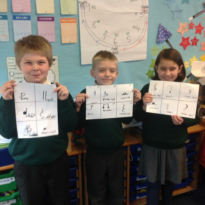 Composing - + Understand metre in 2 and 3 beats;