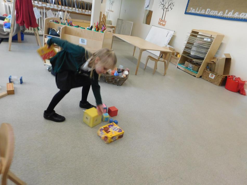 Maisie-Jane found a cube