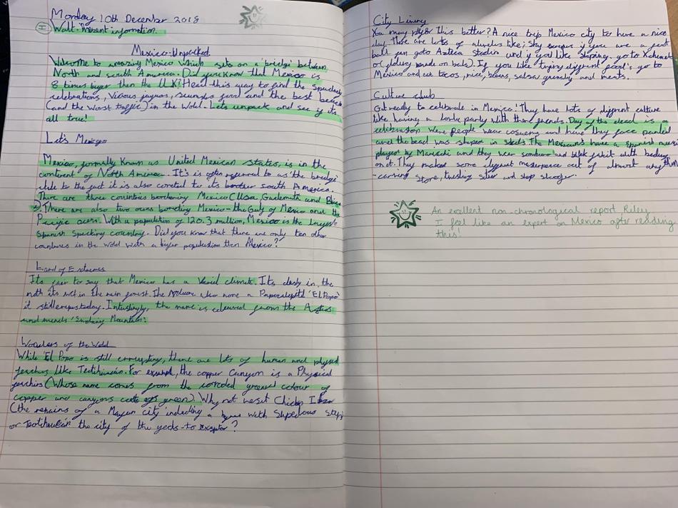 Wonderful writing Riley!