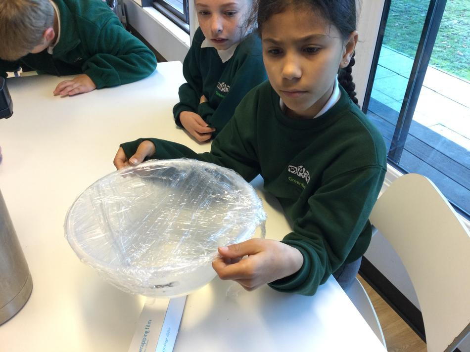 ...created water vapour which condensed and turned back into water.