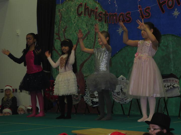 Christmas dance by Luji, Ayesha, Ellie and Aaliyah
