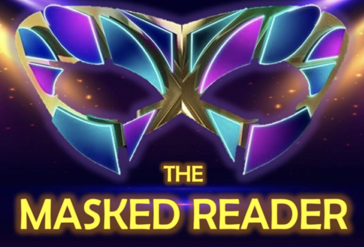 Watch the videos below. Can you guess who is the reader behind the mask?