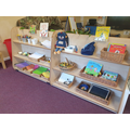 Writing and phonics area