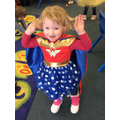 Wonderwoman, World Book Day 2017