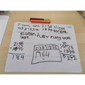 We have been looking at word problems in maths. We used bar models to work help us.