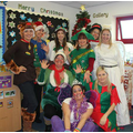 Christmas fun for the staff