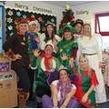 Christmas fun for the staff