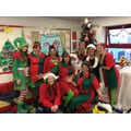 Santa and his elves!
