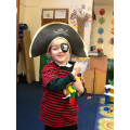 Pirate portraits for our wanted posters!