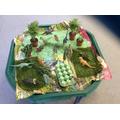 The children loved this Dinosaur garden