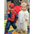 Spiderman and the Snow Queen! World Book Day 2017