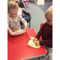 Making bread in a bag was lots of fun!