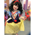 Strike a pose Snow White, World Book Day 2017