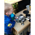 Our new mud kitchen
