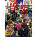 Dogs for good visit the children