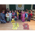 We wore our pyjama's and brought our teddies