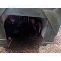 Staying safe in the Anderson shelter