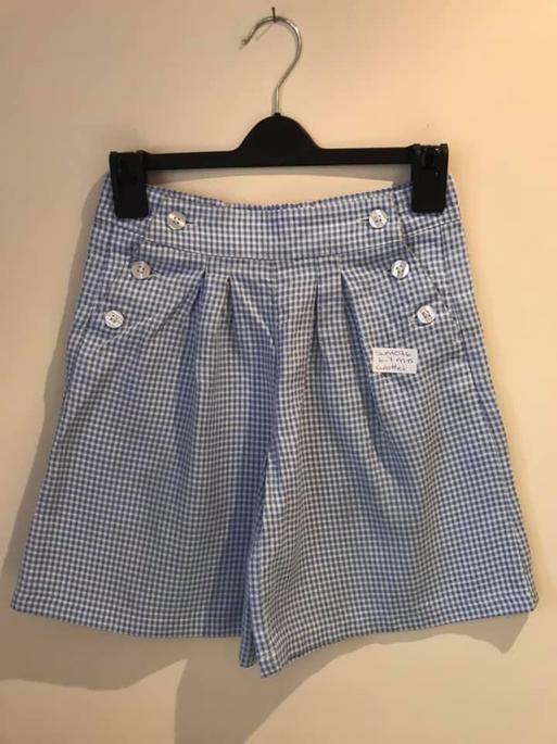 SUM076 6-7 M&S Gingham Shorts