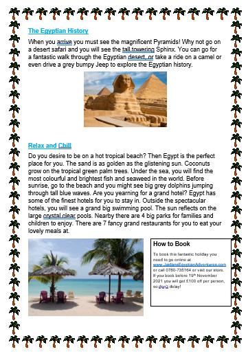 Jaidan's brilliant brochure part 2...