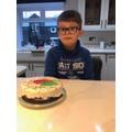 Sid baked a cake!