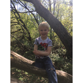 Dylan has been exploring nature.