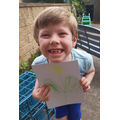 Oliver has done this great observational drawing.