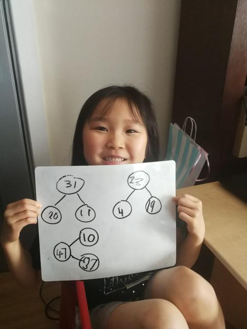 Grace's fantastic Maths!