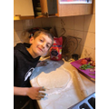 Oscar has been busy cooking!