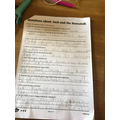 Grace worked hard on her comprehension.