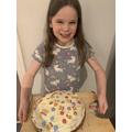 Sophia's been baking!