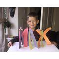 Max's 3D art work.