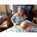 Esther: A baker in the making!
