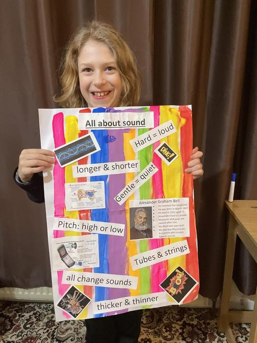 Colby's super Sound poster!