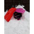 Valentina made an igloo!