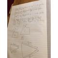 Oliver's maths work.